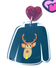 Load image into Gallery viewer, Ugly reindeer Christmas jumpers