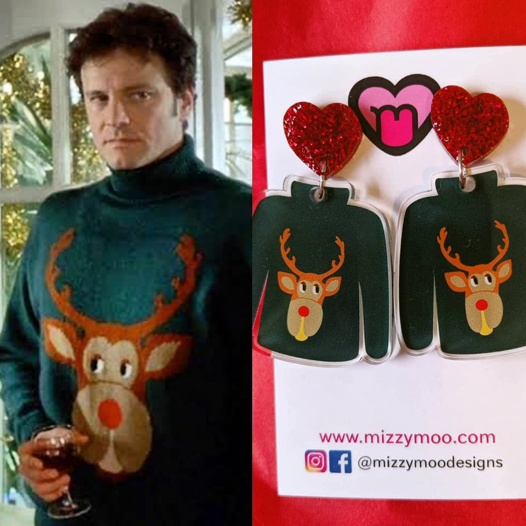 Ugly reindeer Christmas jumpers