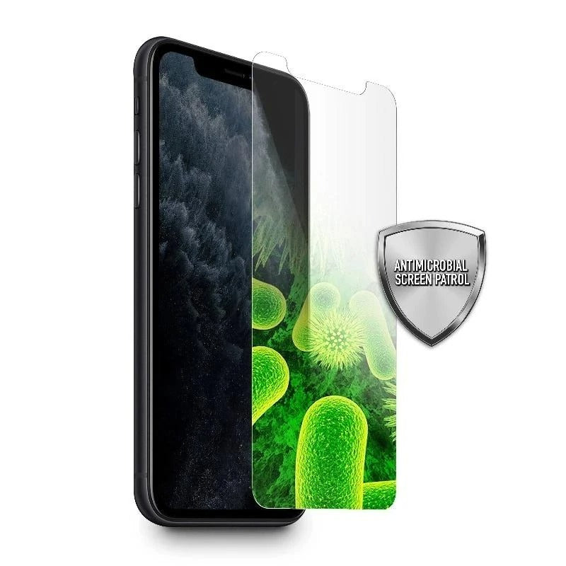 Antimicrobial tempered glass screen protector