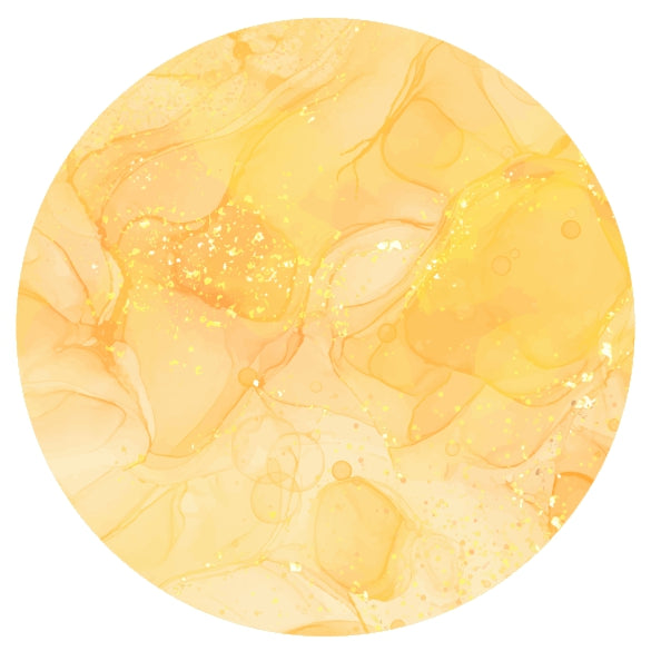 Gold Marble by Mandy