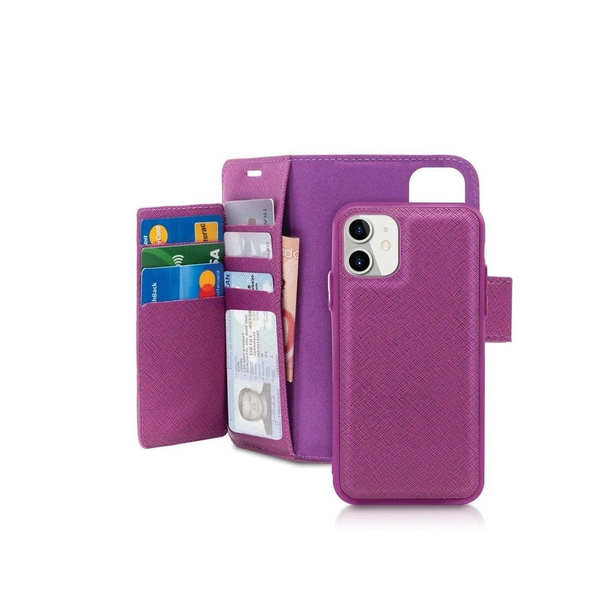 Magnetic Wallet Folio Case
