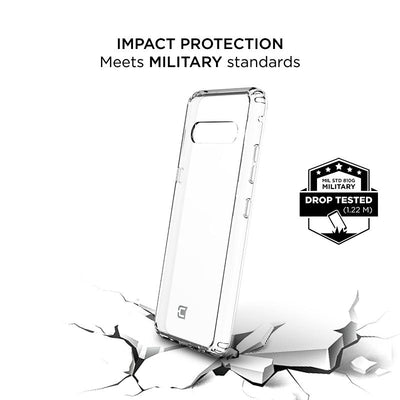 LG V60 ThinQ Slim Clear Protective Case