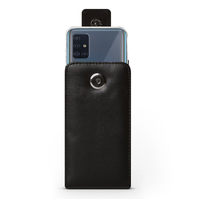 Vertical Leather Pouch (Fits With Fremont Case) - Samsung A51