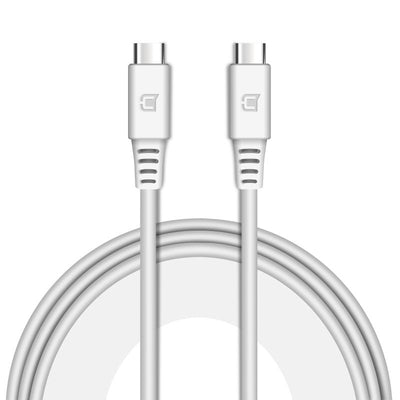 USB C to USB C Cable - 1 Meter - White