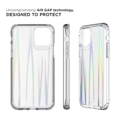 iPhone 11 Pro Max Prisma Swirled Iridescent Clear Tough Case Fremont Caseco