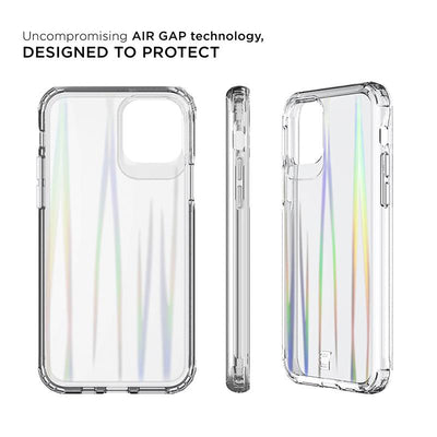 Iridescent iPhone Case - iPhone 11 Pro Prisma Swirled Iridescent Clear Tough Case - Prisma | Caseco