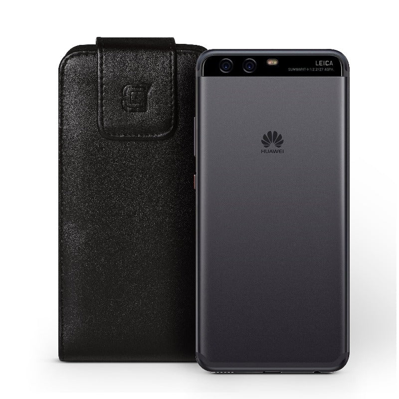 Vertical Huawei P10 Faux Vegan leather belt clip holster pouch Pouch Caseco