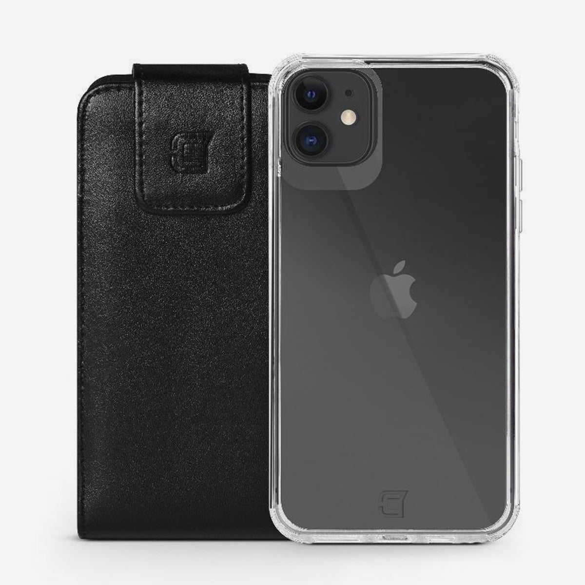 Vertical Leather Pouch (Fits With Fremont Case) - iPhone 12