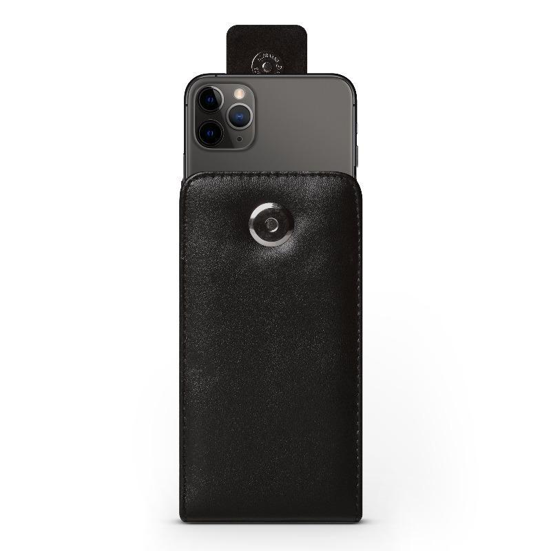 Vertical Leather Pouch - iPhone 12 Pro