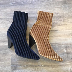 Fabs Heeled Sock Boot