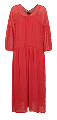 Soaked in Luxury red ladies dress at ShuBoutique