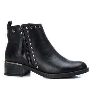 Ladies XTI Black Faux Leather Boot 44744