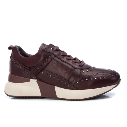 Ladies Carmela Leather Casual Trainer 67423