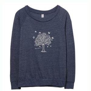Blossom Slouchy Tree Of Life Active Top