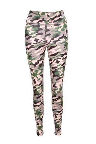 Blossom Camo Chameleon Active Leggings