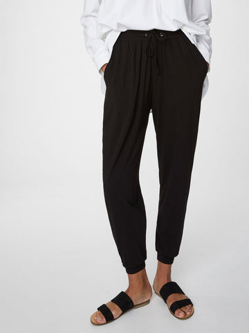 Ladies Thought Black Leisure Trousers 3548