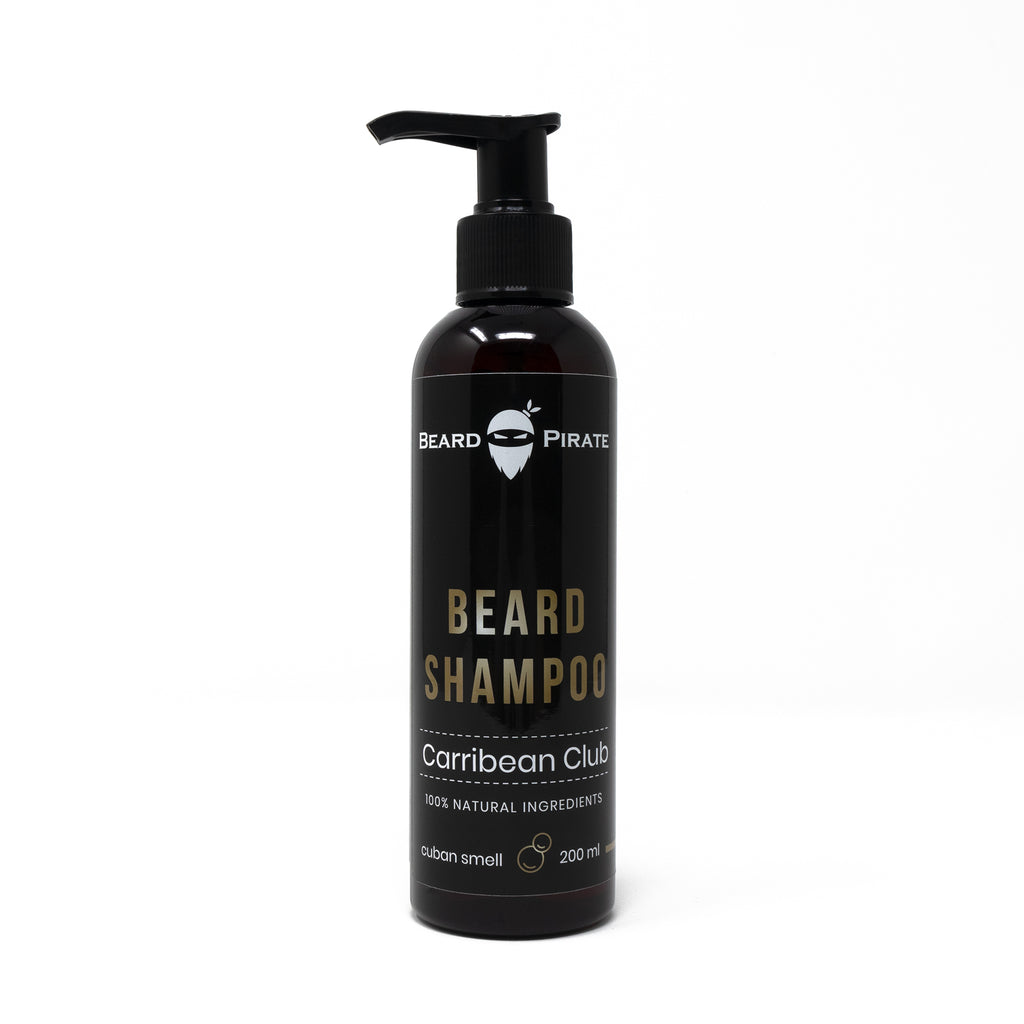 "Bartshampoo ""Carribean Club"" 200ml - Beard-Pirate - Bartshampoo -"