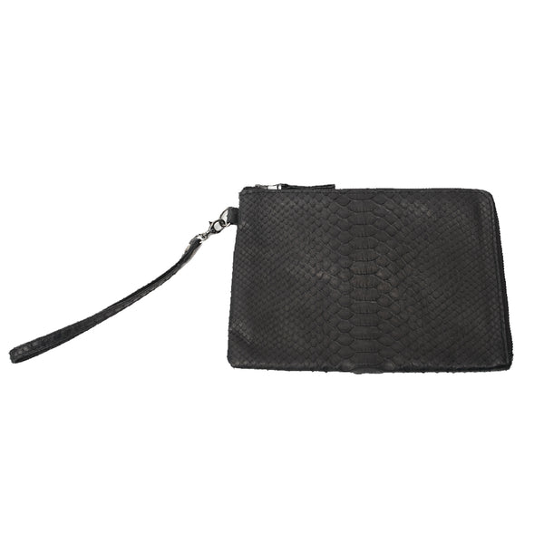 BLY CLUTCH, Ink Black