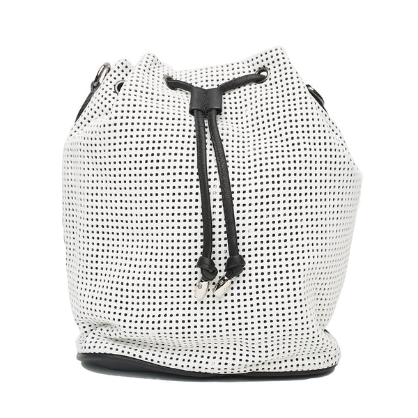GERALDINE CONVERTIBLE BUCKET, Graphic White