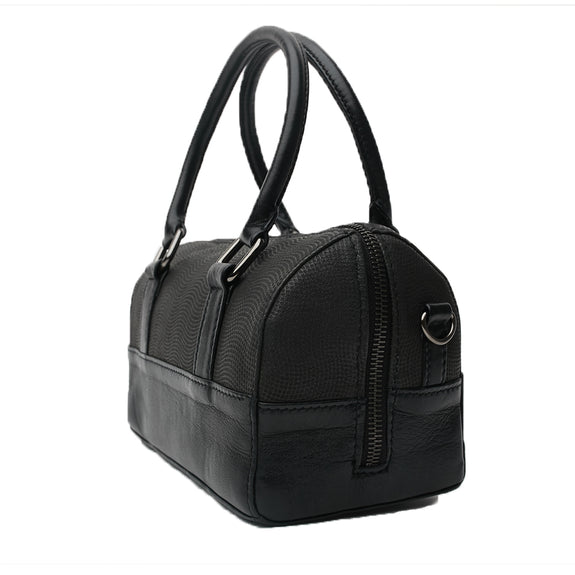 MAE PURSE, Brushed Black