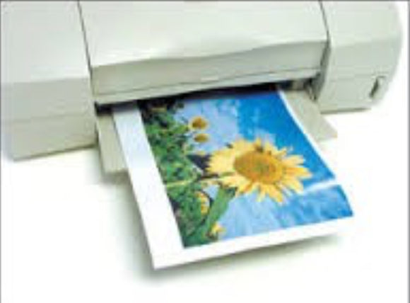 "Matte Finish THICK Inkjet Printable 8.5"" x 11"" Magnetic Paper (20-24 mil) Print on Magnet"