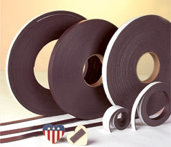 100' Long Rolls of 60 mil Indoor Adhesive Magnetic Peel and Stick Strip Roll Magnet