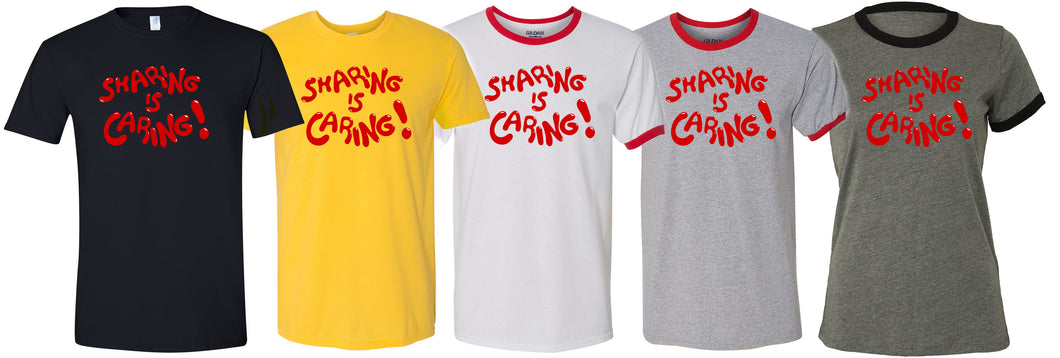 Sharing is Caring RMAN fundraiser Tee