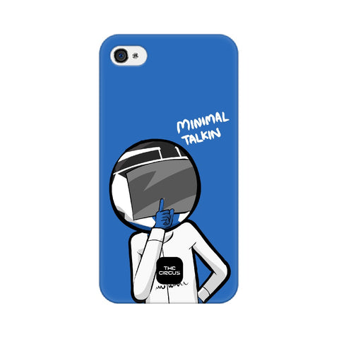 Minimal Talking - Phone Case