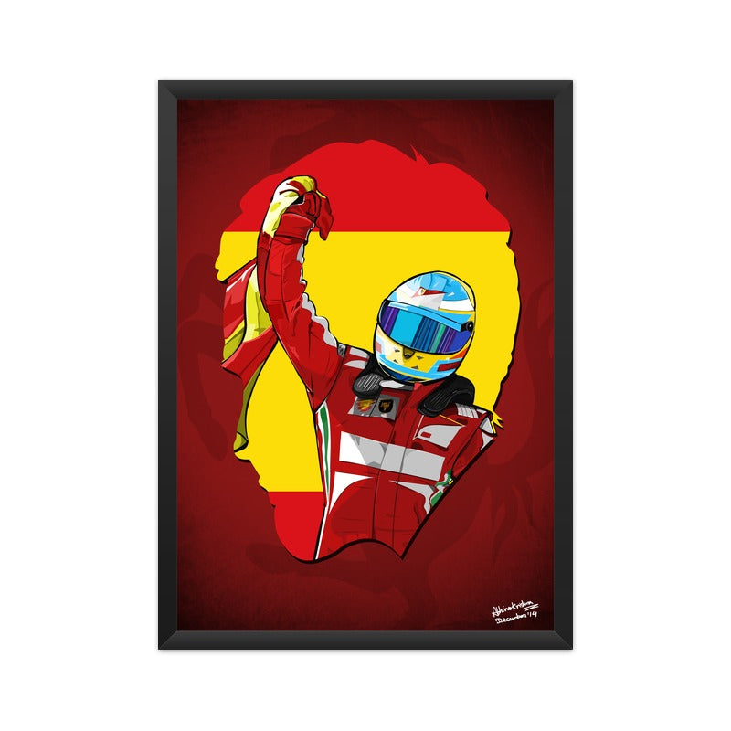 Alonso Ferrari Tribute