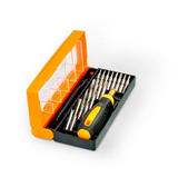 DIY Home Manufactures Precision Tool Mobile Fixing Diy Tool Mini Plastic Box Screwdriver Set