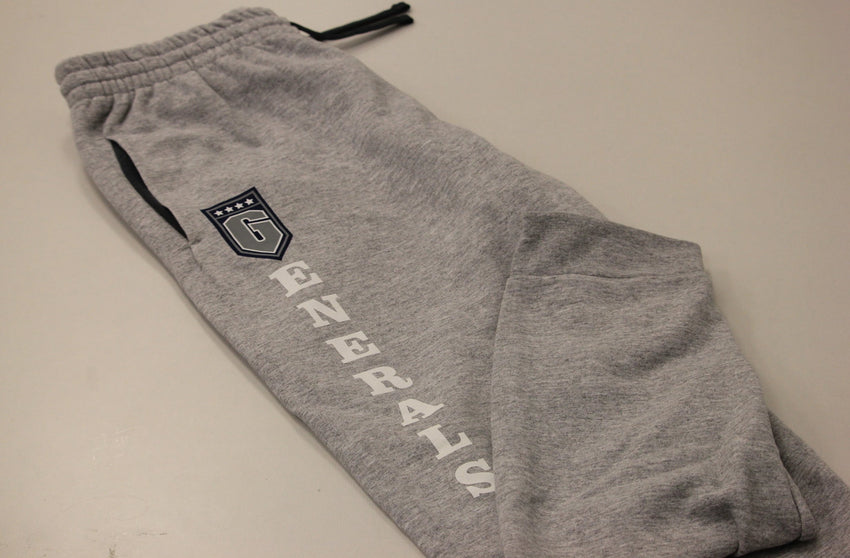 Thomas Nelson Generals Sweatpant// Joggers -- Gray