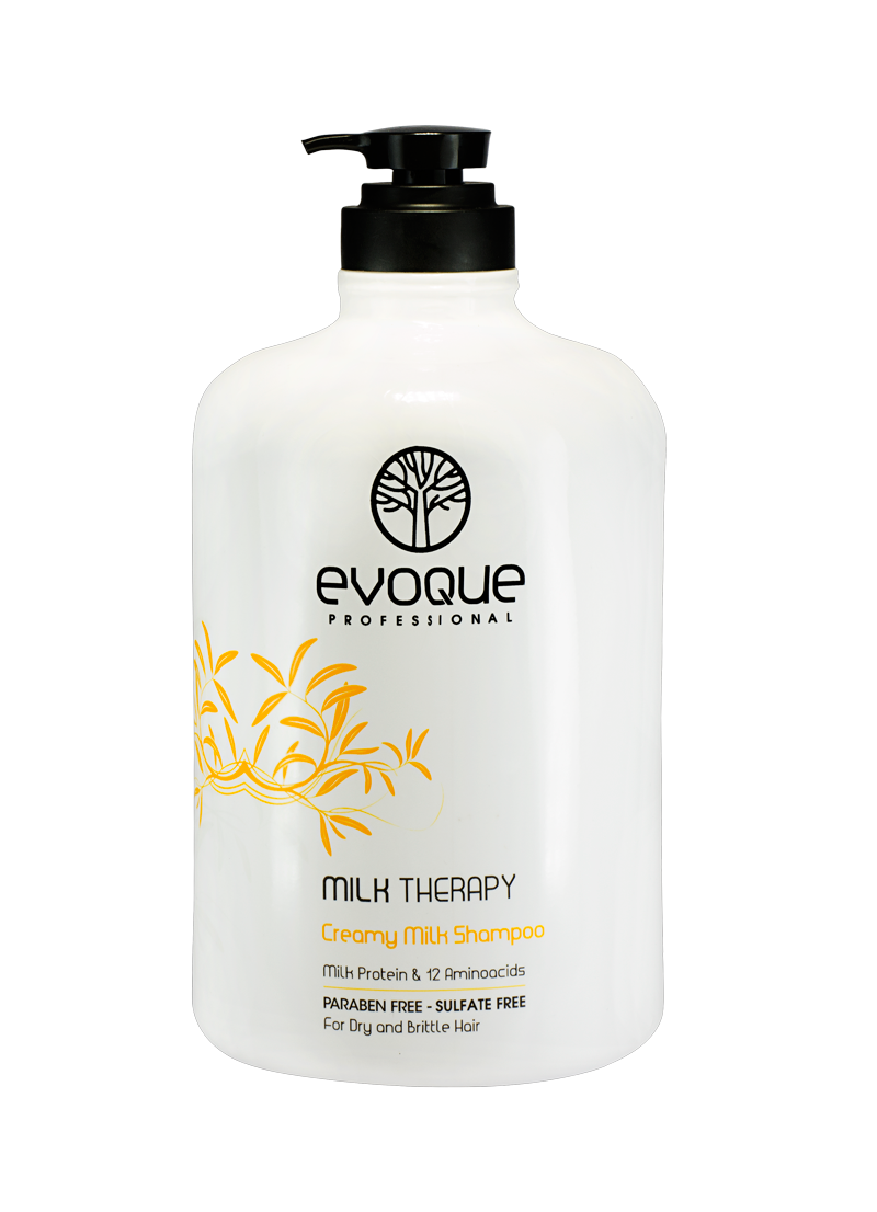 Evoque Milk Therapy Moisturizing Shampoo 2.8L (96.37oz)