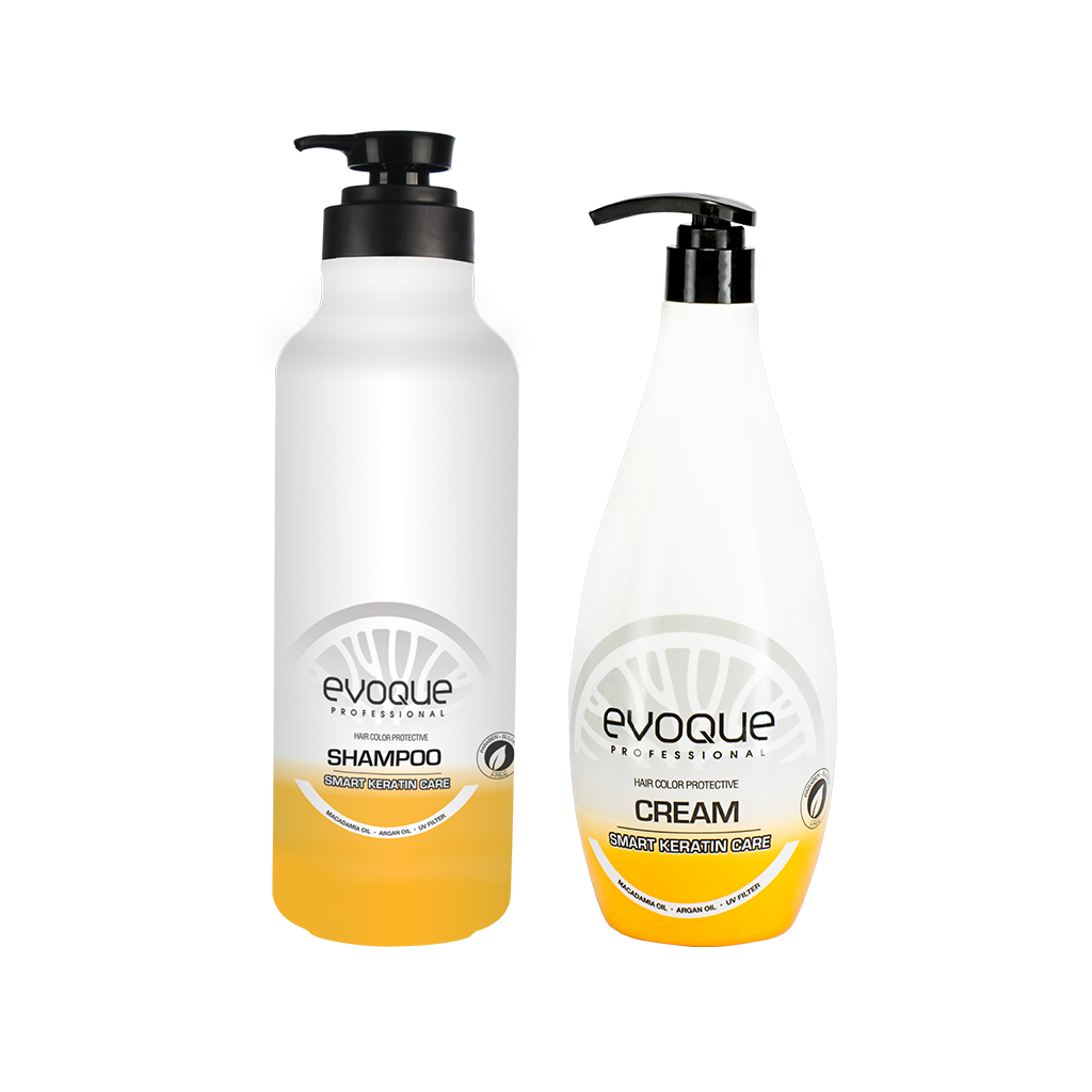Evoque Keratin Shampoo Bundle: 1L - 15% OFF