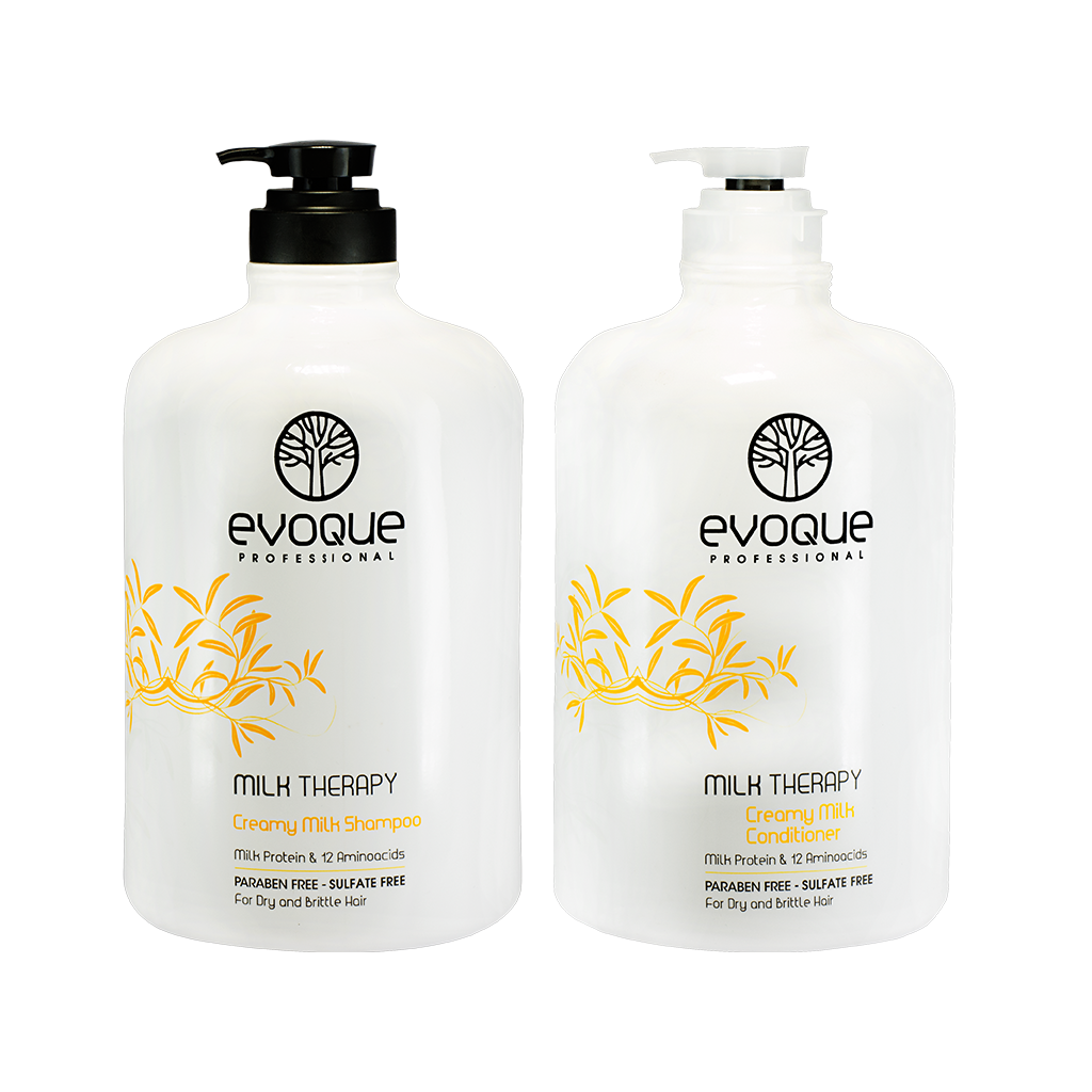 Evoque Milky Shampoo Bundle: Gallon - %15 OFF