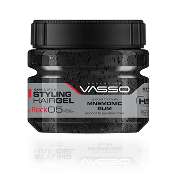 Vasso Hair Gel The Rock 250ml (16.91oz)