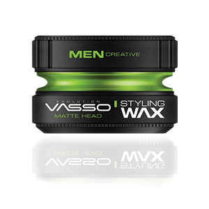 Vasso Hair Styling Wax Matte Wax (Matte Head) 150ml (5.07oz)