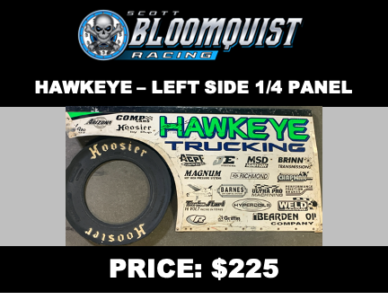 HAWKEYE TRUCKING - LEFT SIDE 1/4 PANEL