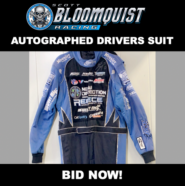 DRIVER SUIT - RACE WORN
