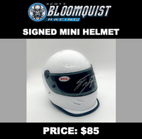 MINI HELMET - SIGNED