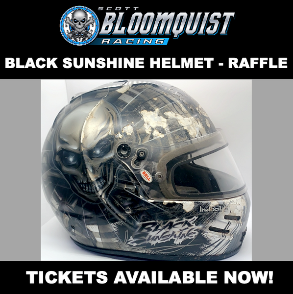 RAFFLE TICKET(S) - BLACK SUNSHINE HELMET