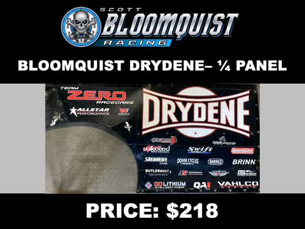 BLOOMQUIST DRYDENE - 1/4 PANEL