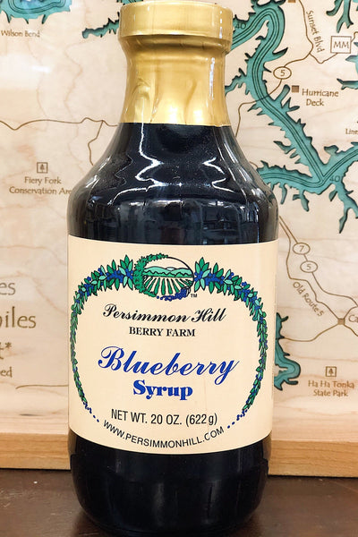 Blueberry Syrup, 20oz.