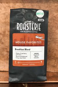 Breakfast Blend Decaf 12 oz