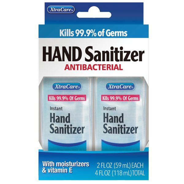 Hand Sanitizer - 2 Pack