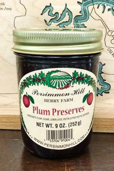Plum Preserves, 10oz.