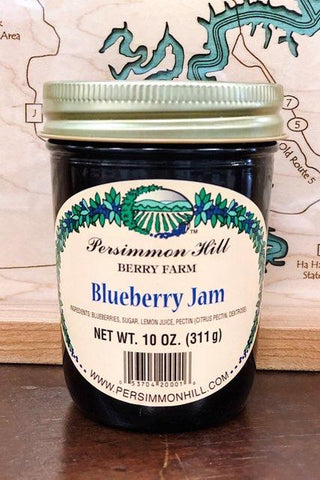 Blueberry Jam, 10oz.