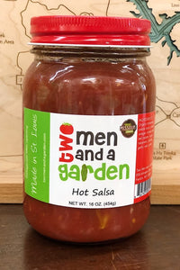two men & a garden salsa - HOT