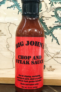 Big John's Chop and Steak Sauce