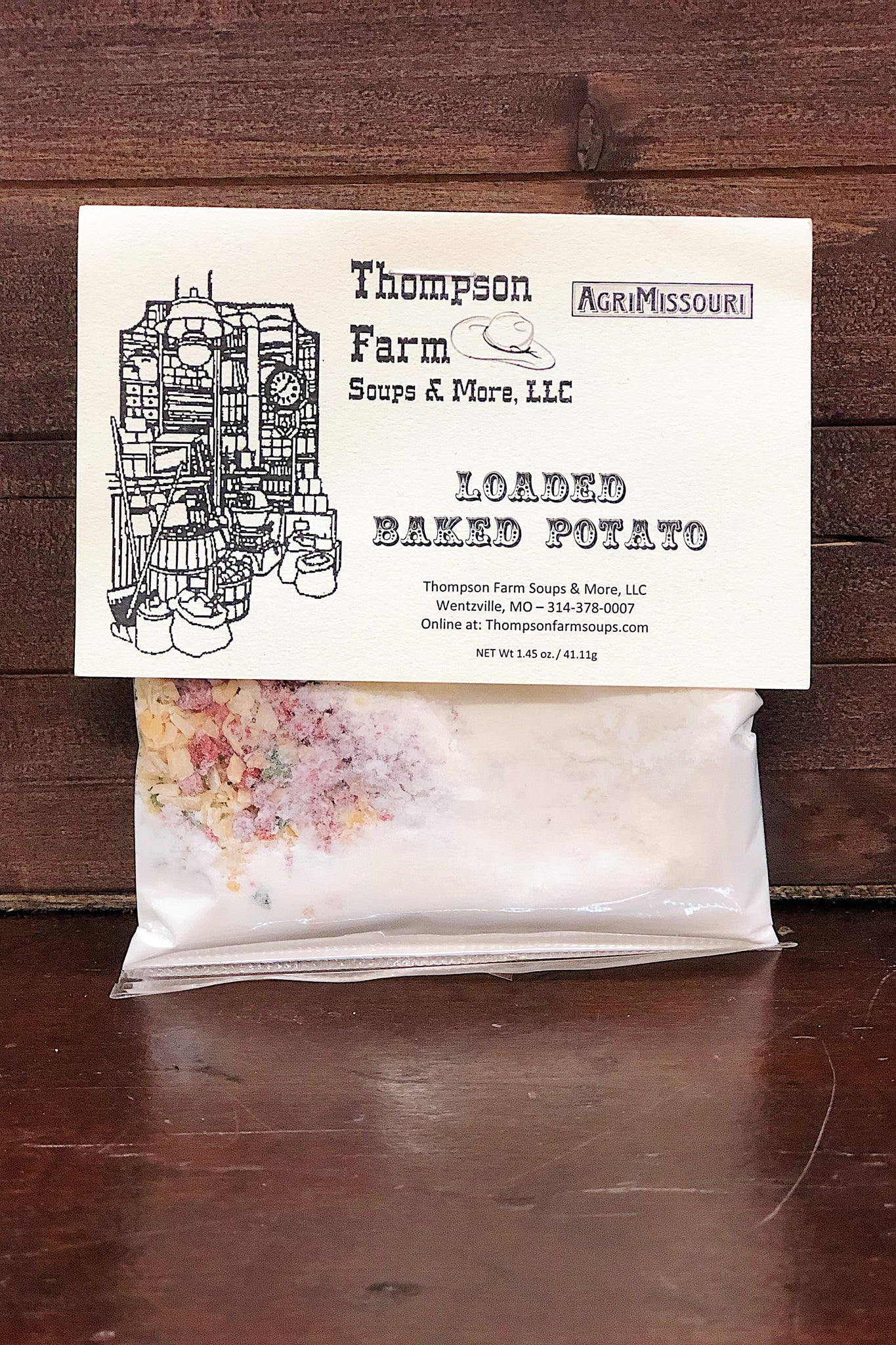 Thompson Farms Dip - Loaded Baked Potato