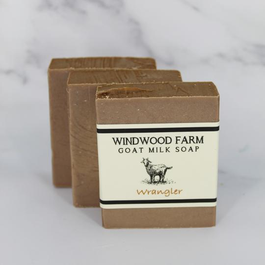 Windwood Farm Goat Milk Soap - Wrangler